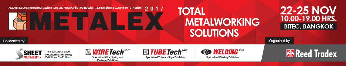 "We will participate in the ""THE GRAND METALEX 2017"""