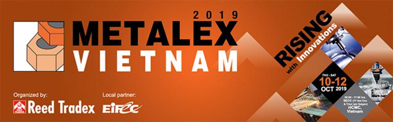『Metalex Vietnam 2019』に出展いたします
